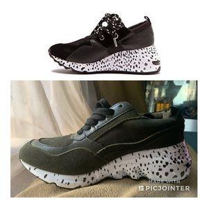 Steve Madden Fashion Women Cliff Sneakers 7.5